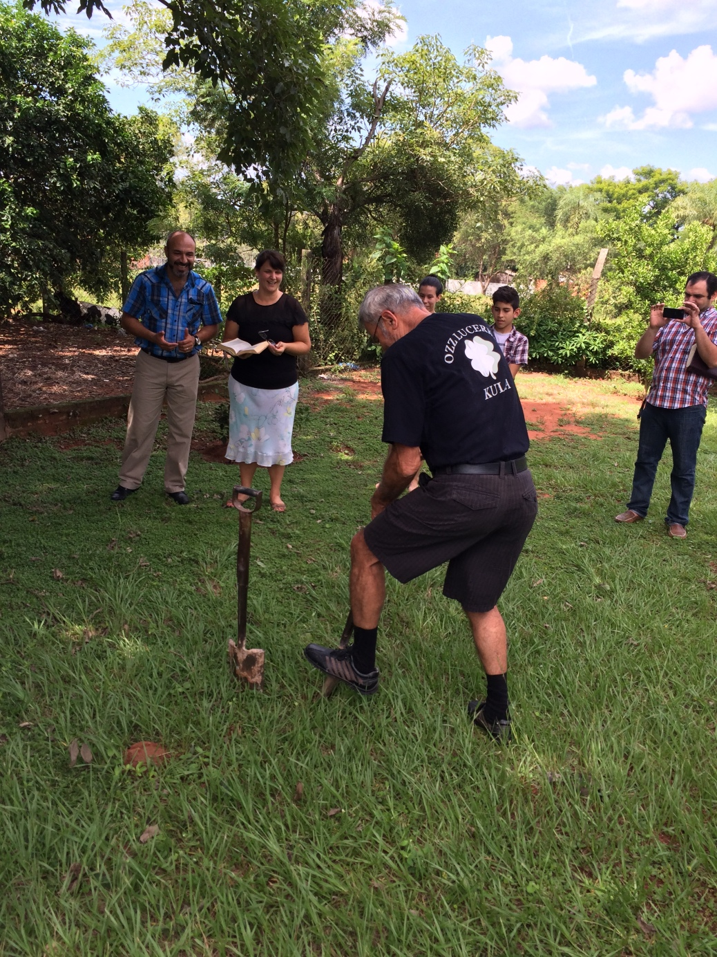 Ground Breaking for the Las Garzas Church