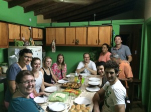 Dinner at Pastor Dario's