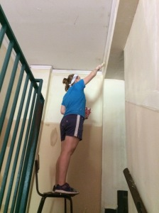 Painting the Stairwell