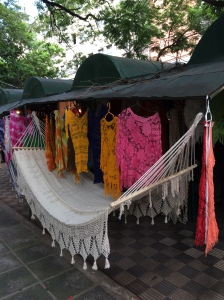 Hammock and Shawls made in Paraguay